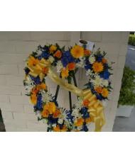 Heart and Wreath Arrangement